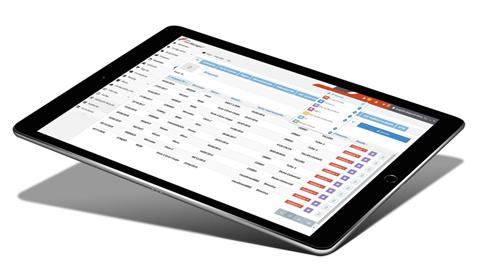 AMAC Software AFM en tableta
